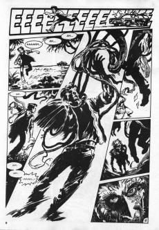 Extrait de Dossier Negro -209- La cosa del pantano