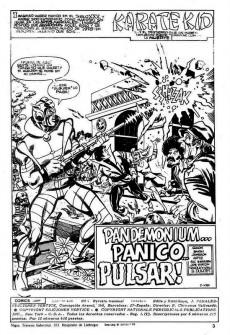 Extrait de Karate Kid -4- ¡Pandemónium... pánico...pulsar!