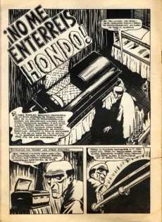 Extrait de Fantom Vol.1 (Vertice - 1972) -1- ¡No me enterréis hondo!