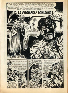 Extrait de Fantom Vol.1 (Vertice - 1972) -2- La venganza del fantasma