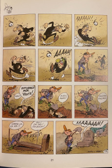 Extrait de Pierre Tombal -3Poche2- Mort aux dents