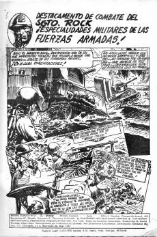 Extrait de Sargento Rock -2- ¡El primer Tigre de la Easy!