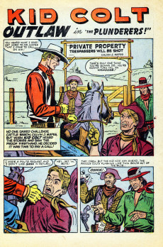 Extrait de Gunsmoke Western (Atlas Comics - 1957) -32- The Plunderers!/Siege!