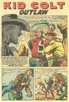 Extrait de Gunsmoke Western (Atlas Comics - 1957) -33- Kid Colt and the Gunman!/Scourge of the Frontier!