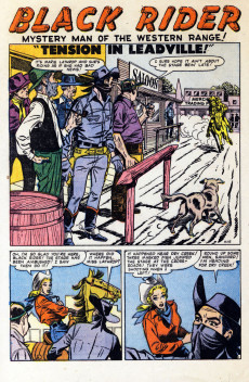 Extrait de Gunsmoke Western (Atlas Comics - 1957) -36- Clean-Up in Buckhorn!