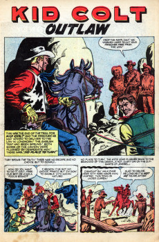 Extrait de Gunsmoke Western (Atlas Comics - 1957) -39- No Place to Turn!