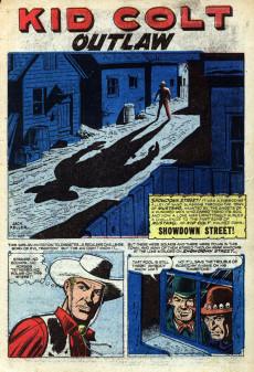 Extrait de Gunsmoke Western (Atlas Comics - 1957) -40- Showdown Street!