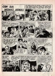 Extrait de Hazañas del Oeste -EXTRA- Almanaque 1962