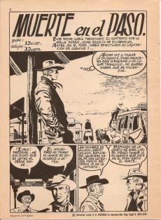 Extrait de Hazañas del Oeste -EXTRA- Almanaque 1964
