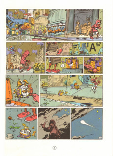 Extrait de Spirou et Fantasio -36- L'horloger de la comète