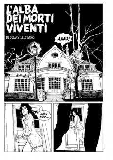 Extrait de Dylan Dog (en italien) -1- L'alba dei morti viventi