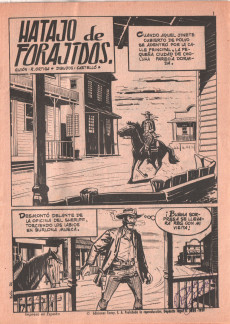 Extrait de Hazañas del Oeste -23- Número 23