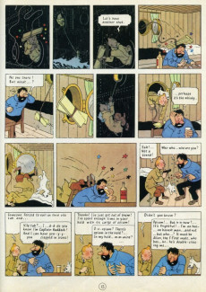 Extrait de Tintin (The Adventures of) -9b1964- The crab with the golden claws