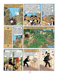 Extrait de Tintin - Pastiches, parodies & pirates -26d2020- Tintin et le lac aux requins