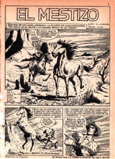Extrait de Hazañas del Oeste -87- Número 87