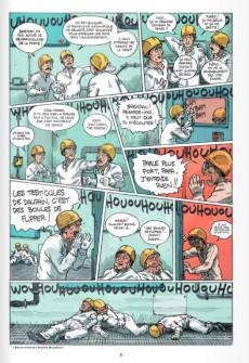 Extrait de Les veuves électriques -1- Deuil atomique
