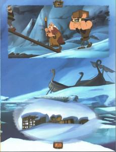 Extrait de Astérix (hors série) (en portugais) -C06- Astérix e os Vikings - O álbum do filme