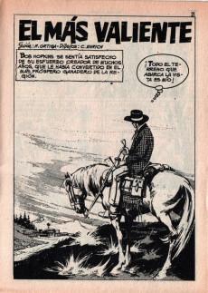 Extrait de Hazañas del Oeste -163- Número 163