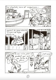 Extrait de Les dessous de Saint-Saturnin -1- Le bistrot d'Émile