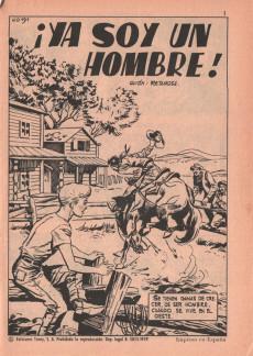 Extrait de Hazañas del Oeste -191- Número 191