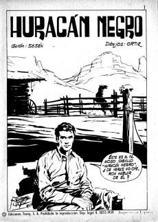Extrait de Hazañas del Oeste -209- Número 209