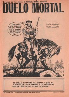 Extrait de Hazañas del Oeste -241- Número 241
