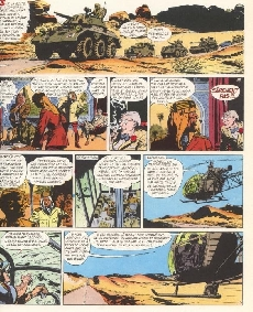 Extrait de Tanguy et Laverdure -14b1981- Baroud sur le désert