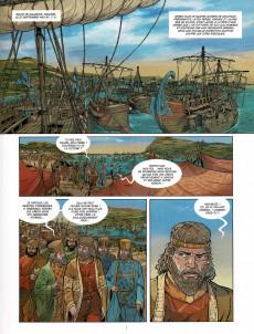 Extrait de Les grands Personnages de l'Histoire en bandes dessinées -65- Xerxès Ier, roi de Perse