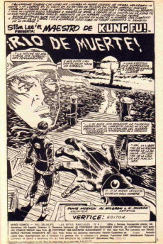 Extrait de Relatos salvages - Artes marciales Vol. 1 -4- ¡ Rio de muerte !