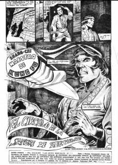 Extrait de Relatos salvages - Artes marciales Vol. 1 -7- El círculo de la sangre de serpiente