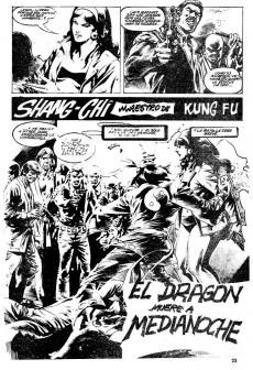 Extrait de Relatos salvages - Artes marciales Vol. 1 -9- Sangre del Dragón Dorado