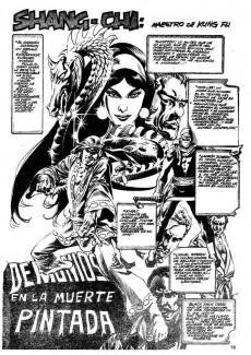 Extrait de Relatos salvages - Artes marciales Vol. 1 -10- El Ladrón en las Sombras Doradas