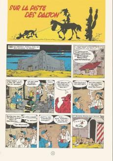 Extrait de Lucky Luke -17b1969'- Sur la piste des Dalton