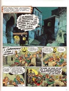 Extrait de Astérix -21b1987- Le cadeau de César
