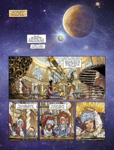 Extrait de La baroque épopée du monde qui ne voulait plus tourner -1- Volume 1