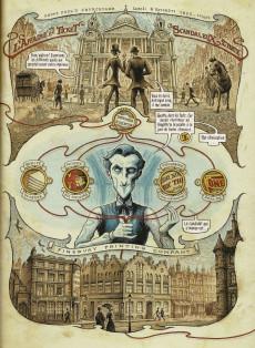 Extrait de Dans la tête de Sherlock Holmes -2- L'Affaire du Ticket Scandaleux 2/2