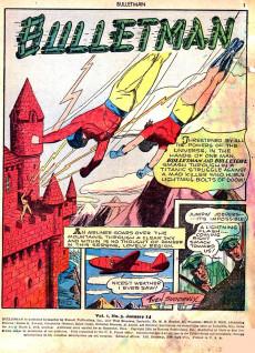 Extrait de Bulletman (Fawcett - 1941) -3- Issue # 3