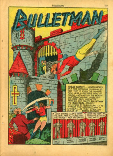 Extrait de Bulletman (Fawcett - 1941) -4- The Headless Horror