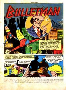 Extrait de Bulletman (Fawcett - 1941) -5- The Riddle of Dr. Riddle