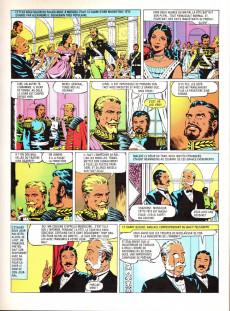 Extrait de Édition adaptée pour la jeunesse, illustrée en bandes dessinées - Michel Strogoff