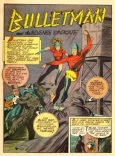 Extrait de Bulletman (Fawcett - 1941) -7- The Revenge Syndicate!