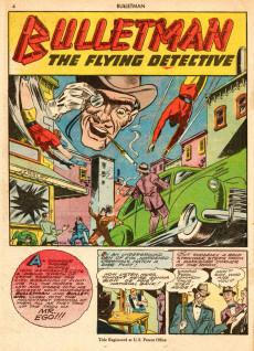 Extrait de Bulletman (Fawcett - 1941) -8- Mr. Ego!