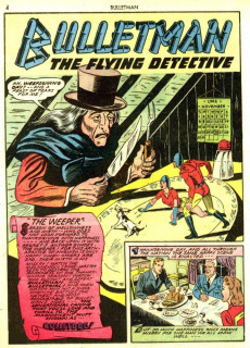 Extrait de Bulletman (Fawcett - 1941) -10- Issue # 10