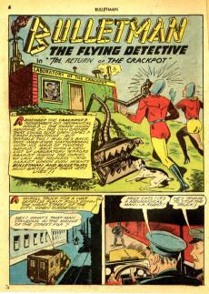 Extrait de Bulletman (Fawcett - 1941) -12- Issue # 12