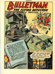 Extrait de Bulletman (Fawcett - 1941) -15- The Mysterious Professor D!