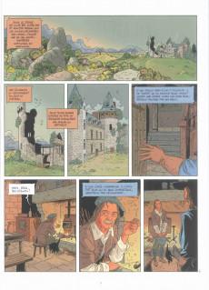 Extrait de Les grands Classiques de la littérature en bande dessinée (Glénat/Le Monde) -11a2021- Le capitaine Fracasse