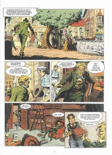 Extrait de Les grands Classiques de la littérature en bande dessinée (Glénat/Le Monde) -5a2021- Voyage au centre de la Terre