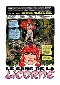Extrait de Red Sonja, la diablesse à l'épée (Les Aventures Originales) -2- Les Années Marvel, volume 2