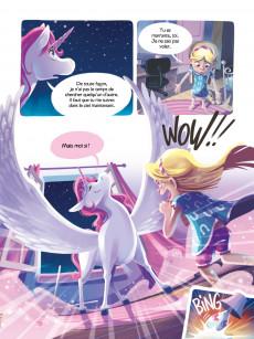 Extrait de Céleste la Licorne -3- édition spéciale Duo: Rallumons les étoiles & Sauvons les arcs-en-ciel