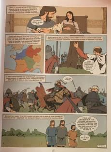 Extrait de Histoire de France en bande dessinée -6- Pépin le Bref premier des Carolingiens 751-768